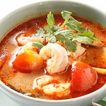 Tom Yum Prawn