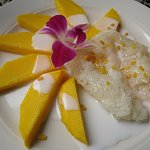 Mango Over Sticky Rice