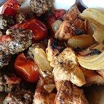 Mixed Grill (Chicken and Lamb Kebab)