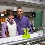 Sammy`s Eislabor im Dorf Tirol - freundlich und sympathisch -