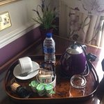 lovely in-room tea tray
