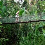 En Uatsi se puede visitar Rancho Grande, cruzar un puente colgante, visitar las cercanas catarat