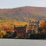 View of Bannerman Castle from the river