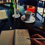 Coffee and sketch time