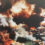 Bombing of the harbor