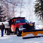 Servicing Lakeside Cabins Winter Vacations - Snowmobiling,  Ice Fishing, Skiing, Outdoor Adventu