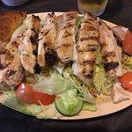 Good grilled chicken salad