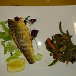 Sea Bass Fillet with mixed vegetables