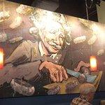Is that Einstein on Mikuni mural?