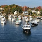 Boats at Perkins Cove