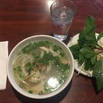 Chicken pho with glass noodles #38