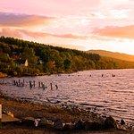 Vista do lago Ness