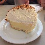 coconut cream...real whipped cream