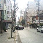 旅館前街道