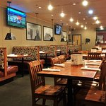 You can catch the Tech or Cowboy's football or maybe baseball on one of the big flat screen TVs.