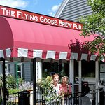 The Flying Goose, formerly the 'Four Corners' and originally called the 'Grey House'!