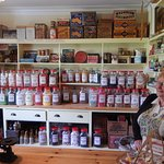 This is the lolly shop - all the jars are full of old recipe lollies.
