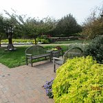 you can find so many areas for sitting and relaxing and enjoy the surroundings
