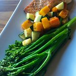 Grilled Salmon with Seasonal Vegetables