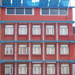 Hotel building, it lies in Thamel, tourists hub,16 rooms all attached bathrooms, can enjoy 360 v