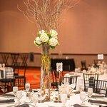 Coral Ballroom - Reception Setup