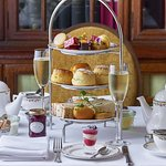 The Library Lounge for Afternoon Tea