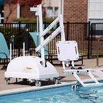 ADA Pool Chair Lift