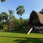 Der Paark un das alte Reishaus