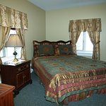 Junior Suite with queen bed.
