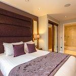 Penthouse bedroom and en suite