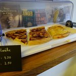Every Wednesday and Friday we offer freshly-made Fruit-Pies.