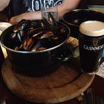 Halloween visit. Had amazing mussels