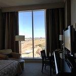 floor to ceiling window in 12th floor room