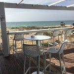 A quiet beach front restaurant in the Winter