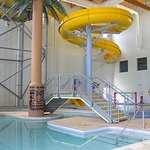 Indoor Pool and Water Slide