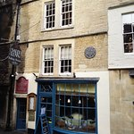 One of many quirky tea rooms and restaurants in Bath