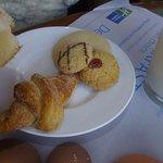Pan para degustar a la hora del desayuno con leche.
