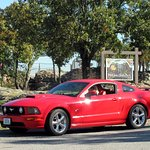 Nearby Pettit Jean State Park....06 GT fastback... .. .O o-