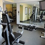 Our fitness area is free for guest to use while they stay.
