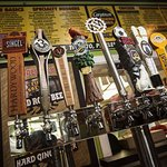 Local craft beers on tap!