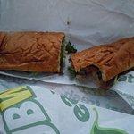 Roast Beef Footlong Subway Sub