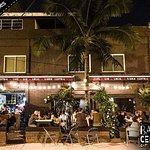 Barrio Central Cafe Bar's beer garden / outdoor patio!!