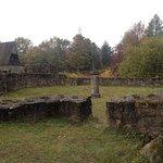 Inside the ruin