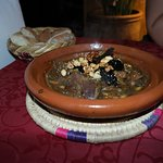 Lamb Tajine at the Riad, very good