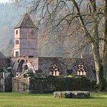 Teil der Klosterruine
