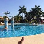 Nice relaxing pool area.
