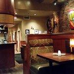 dining room in restaurant.