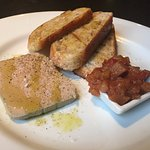 Pate with apple relish