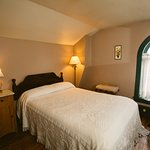 Salmon's Garret is our smallest room on the third floor (but also one of our most popular)!