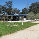 Karrabool Olives Store & Coffee shop is located on a working olive grove